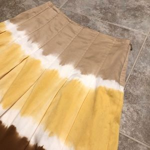 INC International Concepts Skirts - 🆕 INC tie dye full a line skirt 0P